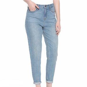 NEW! Hot Topic HT Mom Jeans Denim Indigo Pants